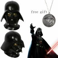 Darth Vader Cosplay Helmet Mask Latex  Head Costume Prop Comic Gifts