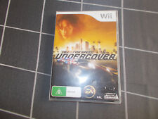 Nintendo Wii Need For Speed Undercover