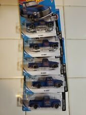 2020 Hot Wheels 52 Chevy Pickup Truck #201 Rod Squad Blue Lot of 5