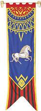 ROHAN Banner II - Herr Der Ringe Flagge offizielle Replica  Fahne ca 55 x 201cm