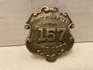 Port Chester New York Fire Dept. Badge