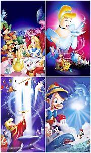 Disney Classic Movie - Children's Cartoon Art Large Poster/Canvas Picture Prints