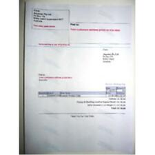 2000 EBAY INTEGRATED A4 POST ADDRESS PRINTING LABEL & PACKING SLIP SELF ADHESIVE