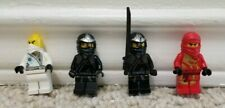 Lego Ninjago Minifigure Lot of 4 Cole ZX Kai DX Zane NJO099 NJO009 NJO054