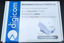 Digicom PowerLan 85 adattatore ethernet powerline high speed 85 Mbps