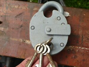 security padlock chubb type