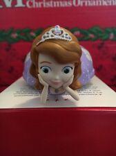 Weihnachten Disney Hallmark Andenken Sofia die Erste Ornament NEU in Packung