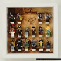 Display Case Frame for Lego Pirates Of The Caribbean minifigures no figures