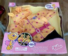 "Zaph Chou Chou Giraffe/Bear Hooded Jacket & Jeans 19"" Doll Clothes 3 Pc Set NIB"