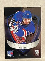 2012-13 Rookie Anthology Panini Elite Rookies #38 Chris Kreider RC 641/999
