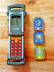 Power Rangers RPM Flip Phone Morpher G-50NP with 3 Chips. New Batteries.