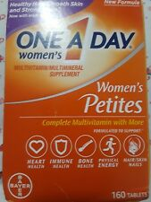 One A Day Women's Petites 160 Tablets 10/19