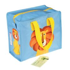 dotcomgiftshop COLOURFUL CREATURES  DESIGN RECYCLED CHARLOTTE BAG - LION