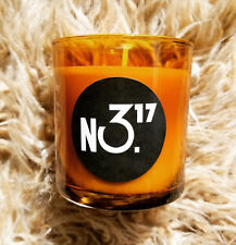 NEW! No. 317 Rosemary/Man Oil Soy Wax Candle Amber Glass Home Fragrance 10 oz
