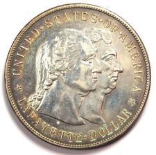1900 Lafayette Commemorative Silver Dollar $1 - Choice AU Details - Rare Type!