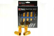 RACING LUG NUTS M-7355 D1SPEC REPLICA HEX M12X1.25 GOLD