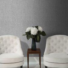 Superfresco Matrix Textured Plain Metallic Charcoal Grey Wallpaper (Was £16)