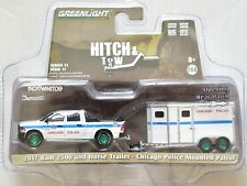 GREENLIGHT GREEN MACHINES 2017 RAM 2500 AND HORSE TRAILER W+