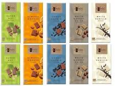 Ichoc vegan allemand chocolat barres mixtes étui choix 10 x 80g