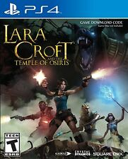 LARA CROFT AND THE TEMPLE OF OSIRIS PS4 NEW! TOMB RAIDER CLASSIC ARCADE ACTION!