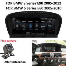 "8.8"" Android 8.1 Car GPS Navigation for BMW 5 Series E60 3 Series E90 2005-2012"