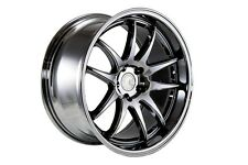 18x9.5/18x10.5 Aodhan DS02 5x114.3 +15 Black Vacuum Rim Fits G35 Coupe 2003-2007