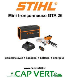 STIHL  Mini Tronconneuse GTA 26 complete