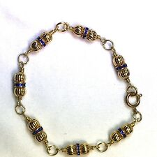 Designer Bracelet Made with Gold-plated Beads