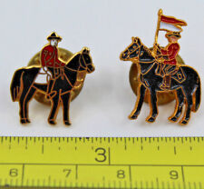2x RCMP Royal Canada Mounted Police on Horse Collectible Pin s