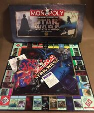 Monopoly Board Game STAR WARS Classic Trilogy Edition ~Complete