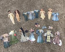 Vintage Paper Doll Lot Reproduction Of 1894 Men Women And Children