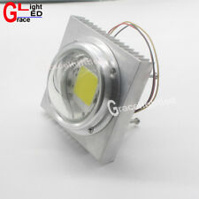 100mm Heatsink with len +fan for 20W 30W 50W High Power led chip 6040 COB bead