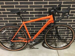 CANNONDALE SLATE FORCE 1 ALUMINUM CYCLOCROSS ROAD BIKE LARGE 2018....