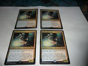 MTG  PLAYSET 4 CARDS  JORI EN,RUIN DIVER  155/184R