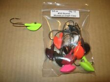 12 Lead Head Stand-Up Fishing Jigs 5/8 O 00006000 Z. Stand Up