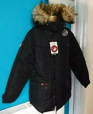 Canada weather gear goose style Ski Skiing Snowboard mens coat Jacket L black v