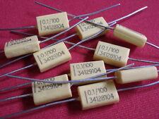 KONDENSATOR MKP 0,1µF 100V= gelb 14 x 9 x 4mm        10x               23647