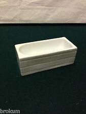 Dollhouse Miniature Porcelain Bathtub Antique Bathroom Furniture ~Germany