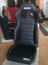 Sparco R100, 2 Sitze Kunstleder  inkl. Konsole und Laufschiene