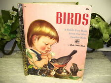 LITTLE GOLDEN BOOK BIRDS 1958 FIRST EDITION A