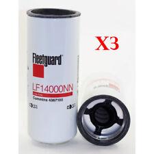 (3) Genuine Fleetguard LF14000NN Oil Filter Cummins ISX 4367100 Free Shipping