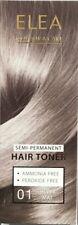 ELEA SEMI-PERMANENT HAIR TONER 100ml AMMONIA FREE PEROXIDE FREE
