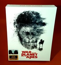 WAR FOR THE PLANET OF THE APES  [4K/3D/2D Blu-ray] STEELBOOK [FILMARENA] #95/500