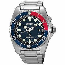 Seiko Prospex SKA759P1 Kinetic Divers 200m Mens Watch Pepsi Color Overseas Model