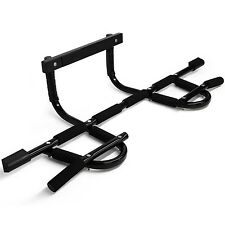 Chin Pull Up Bar Doorway Home Gym Fitness Exercise Mounted Workout - ²C84WF