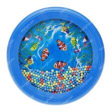 Ocean Wave Bead Drum Gentle Sea Sound Musical Educational Toy Tool for Baby S UK