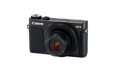 A - Canon PowerShot G9 X Mark II Digital Camera - Black