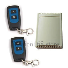 12V 2 Channel 315MHz RF Remote Control Replacement Garage Door Opener Receiver