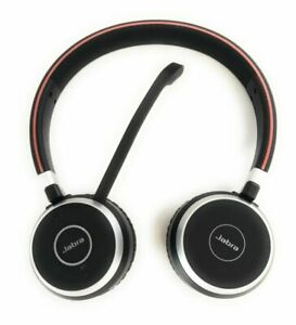 Jabra Evolve 65 UC Stereo Bluetooth Headset with Link 370, 6599-829-409