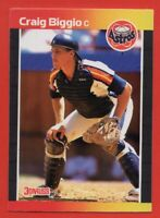 1989 Donruss #561 Craig Biggio NEAR MINT Houston Astros ROOKIE RC FREE SHIPPING